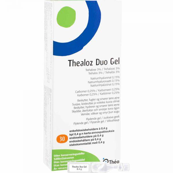 Thealoz Duo Gel Ampuller 30 x 0,4 g, Apotekfordeg, 836699