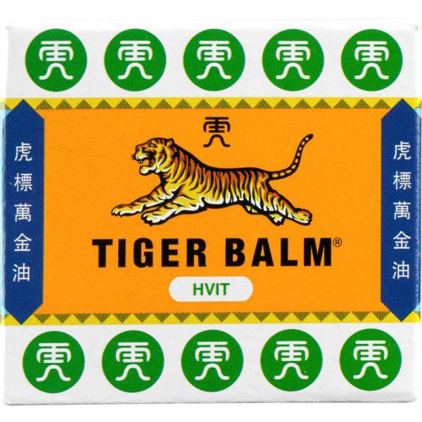 Tigerbalsam Hvit 19 g - mot stive og ømme muskler, 836171 - 1