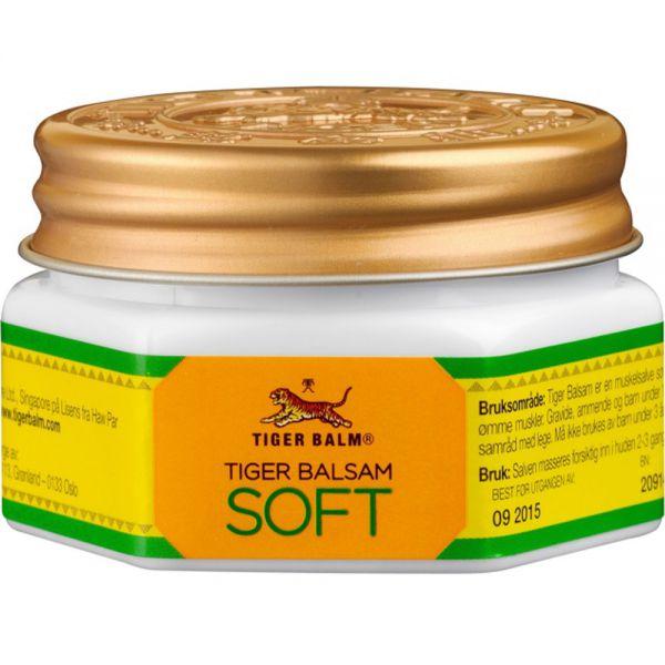Tigerbalsam Soft 25 g - mot stive og ømme muskler, 901315