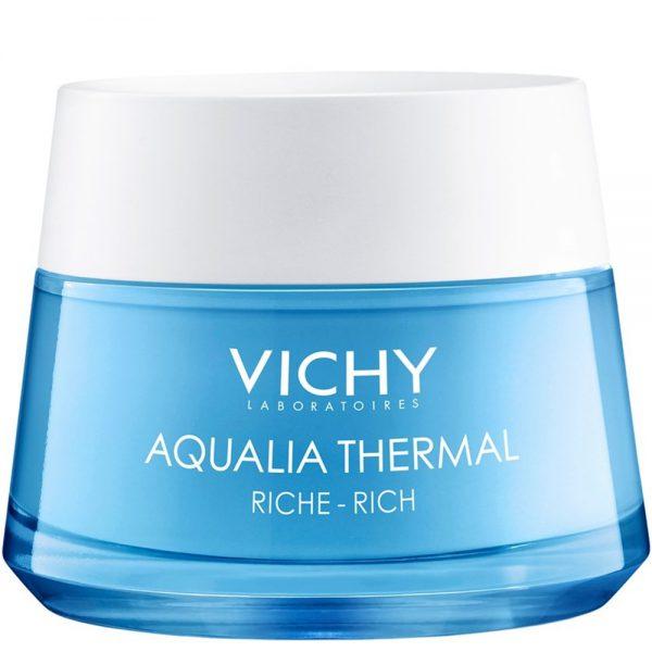 Vichy aqualia thermal rehydration cream rich, rik fuktgivende ansiktskrem for tørr hud, Apotekfordeg, 956261