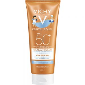 Vichy capital soleil wet skin gel kid SPF50+, Apotekfordeg, 995073