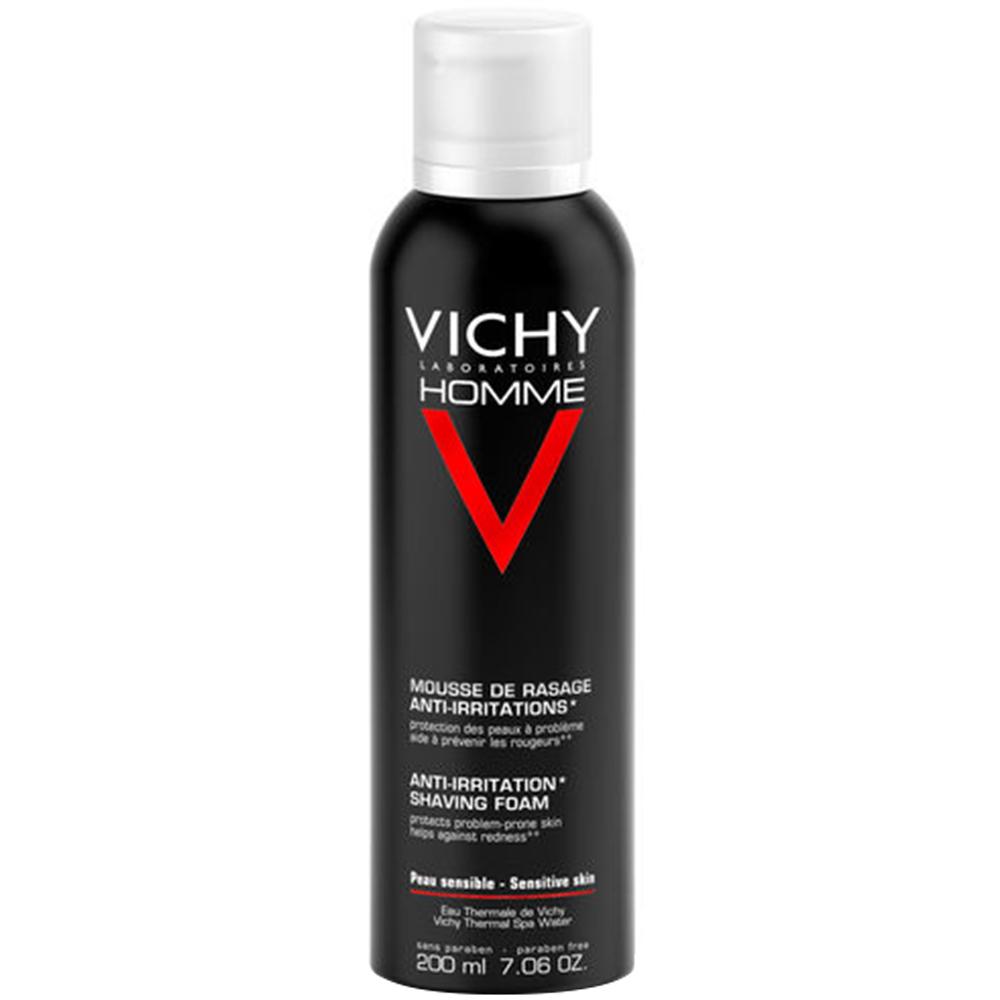 Vichy homme barberskum uten alkohol som minimerer svie og irritasjon, Apotekfordeg, 931383