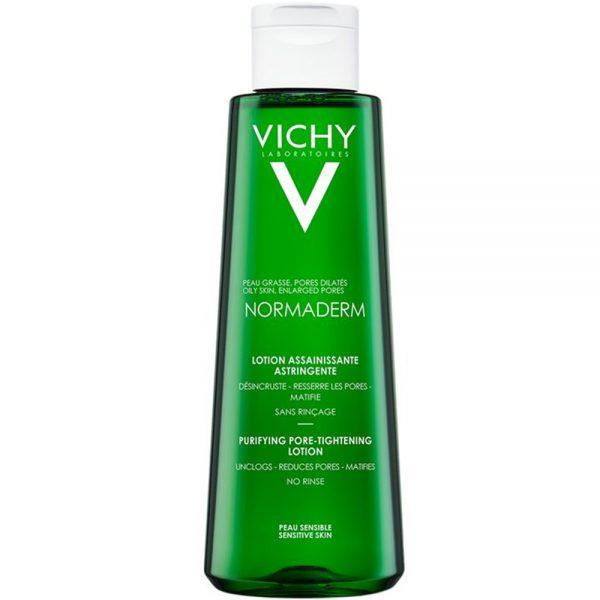 Vichy normaderm tonic, rensende ansiktsvann for kombinert, fet og uren hud, Apotekfordeg, 851449