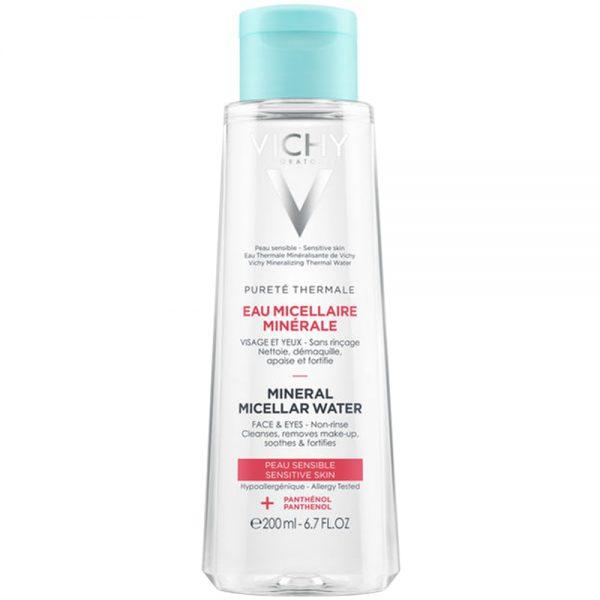 Vichy pureté thermale mineral micellar water, fuktgivende rensevann som motvirker uttørking, Apotekfordeg, 932232