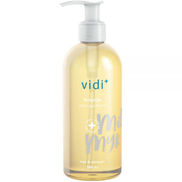 Vidi dusjolje uten parfyme, til tørr hud, 300ml, ApotekForDeg, 952312