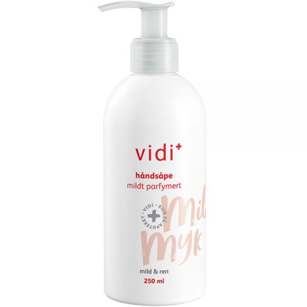 Vidi håndsåpe med parfyme, mild mot hendene, 250ml, ApotekForDeg, 832024