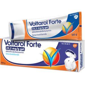Voltarol Forte Gel 23,2 mg:g 100 g, Apotekfordeg, 392871