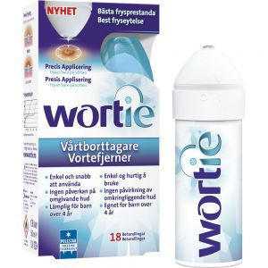 Wortie cool vortefjerner, 50 ml, Apotekfordeg, 909209