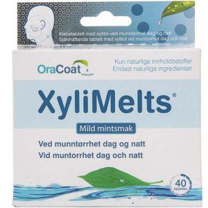 Xylimelts Mint Klebetabletter 40 stk, ApotekForDeg, 906590