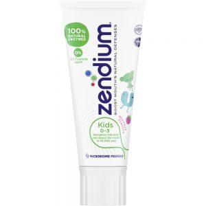 Zendium Kids 0-3 år Tannkrem 50 ml, Apotekfordeg, 949449