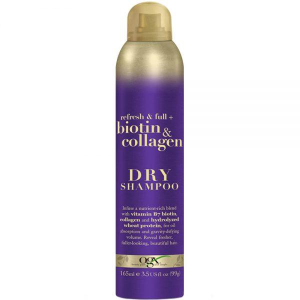 Ogx biotin & collagen tørrsjampo for alle hårtyper 165ml, Apotekfordeg, 846930