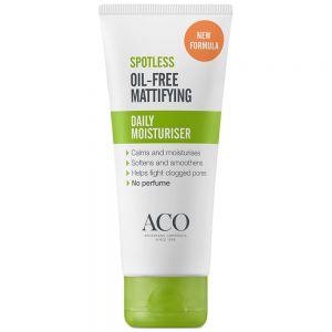 Aco spotless daily moisturiser fuktighetskrem med mattende effekt, 60 ml, ApotekForDeg, 918299