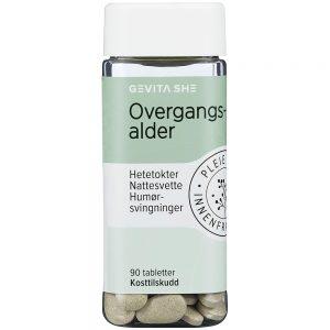 Gevita SHE Overgangsalder Tabletter 90 stk, ApotekForDeg, 812165