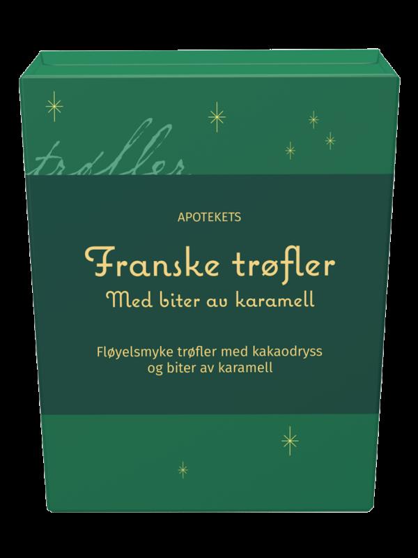 Julegodt apotekets franske trøfler, Apotekfordeg, 917538