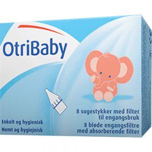 Otribaby Myke Engangsfiltre 10 stk til nesesuger, Apotekfordeg, 971301