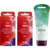 Pakkeløsning med vårt bestselgende kondom og glidemiddel, 700022