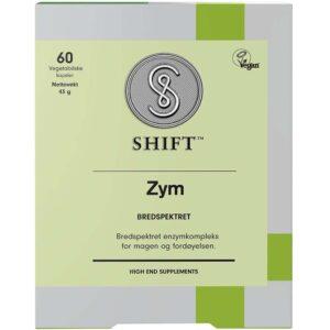 SHIFT Zym Bredspektret 60 Kapsler, Apotekfordeg, 843354