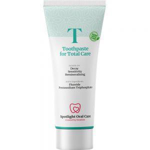 Spotlight Oral Care Toothpaste For Total Care 100 ml - bekjemper karies og følsomhet, Apotekfordeg, 831812
