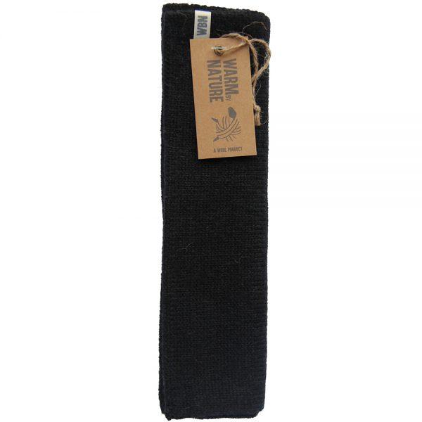 WBN hals unisex koksgrå, varm ullhals i pakning, Apotekfordeg, 909382