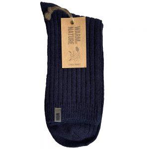 WBN tynn ullsokk mann dark blue, str. 42-45, Apotekfordeg, 843958