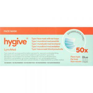 Hygive munnbind 3-lags type 1, 50 stk, Apotekfordeg, 879589