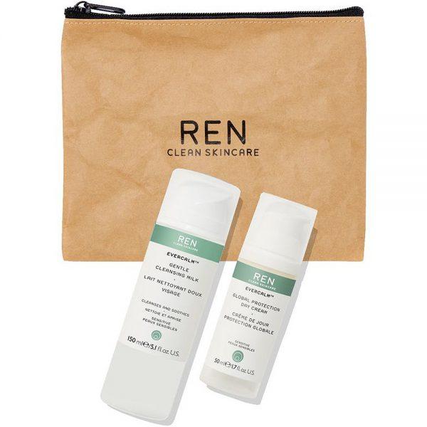 REN julegavesett m: Evercalm day cream og Evercalm gentle cleansing milk, ApotekForDeg, 804821