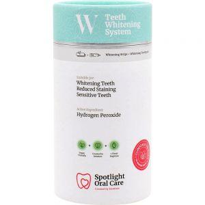 Spotlight Oral Care Whitening Strips + Tannkrem 1 sett - enkel tannbleking, Apotekfordeg, 890408