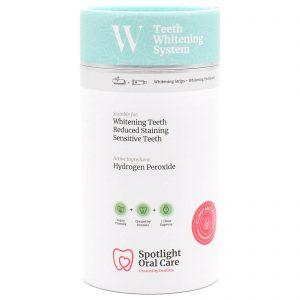 Spotlight Oral Care Whitening strips og tannkrem, apotekfordeg, 890408