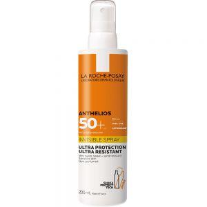 La Roche-Posay Spray SPF50+ 200 ml - til sensitiv og solintolerant hud, Apotekfordeg, 982569