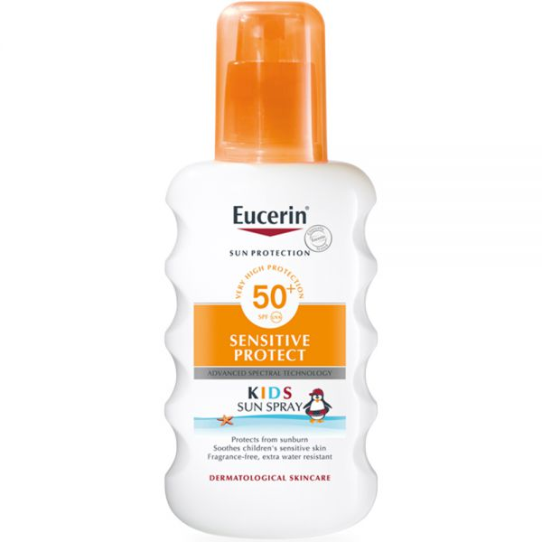 Eucerin Kids Sun Spray SPF50+ 200 ml, ApotekForDeg, 846713