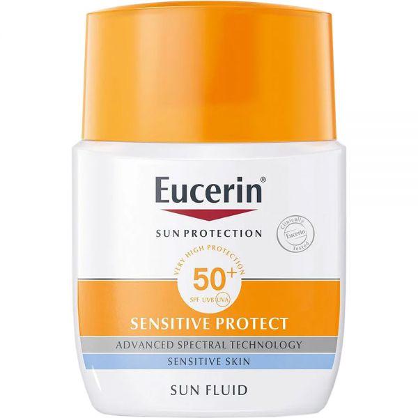 Eucerin Sun Fluid SPF50+ 50 ml, ApotekForDeg, 947060