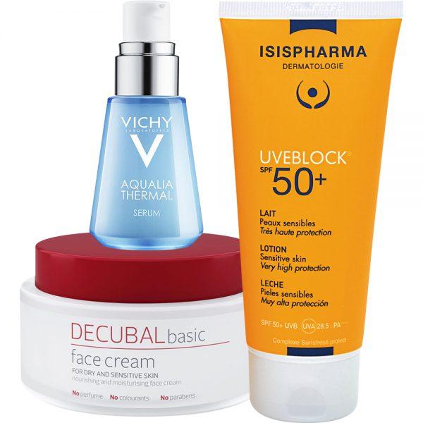 Velværepakke for sensitiv hud, Apotekfordeg, 700064