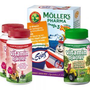 Barnas vitaminpakke, Apotekfordeg, 700090