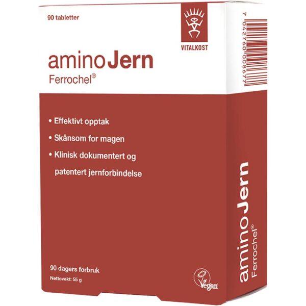 Ferrochel AminoJern Tabletter 100 stk, Apotekfordeg, 916889