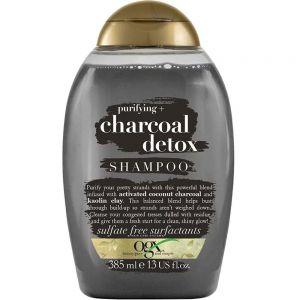 Ogx Purifying Charcoal Detox Sjampo 385 ml, ApotekForDeg, 600469