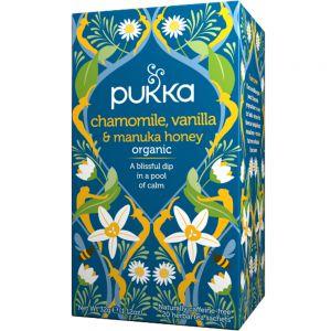 Pukka Chamomile, Vanilla & Manuka Honey urtete, Apotekfordeg, 600507