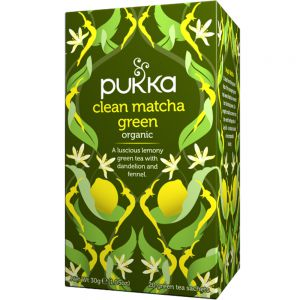 Pukka Clean Matcha Green urtete, Apotekfordeg, 600523