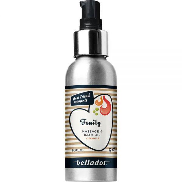 Belladot Massasjeolje Fruity 100 ml, Apotekfordeg, 600879