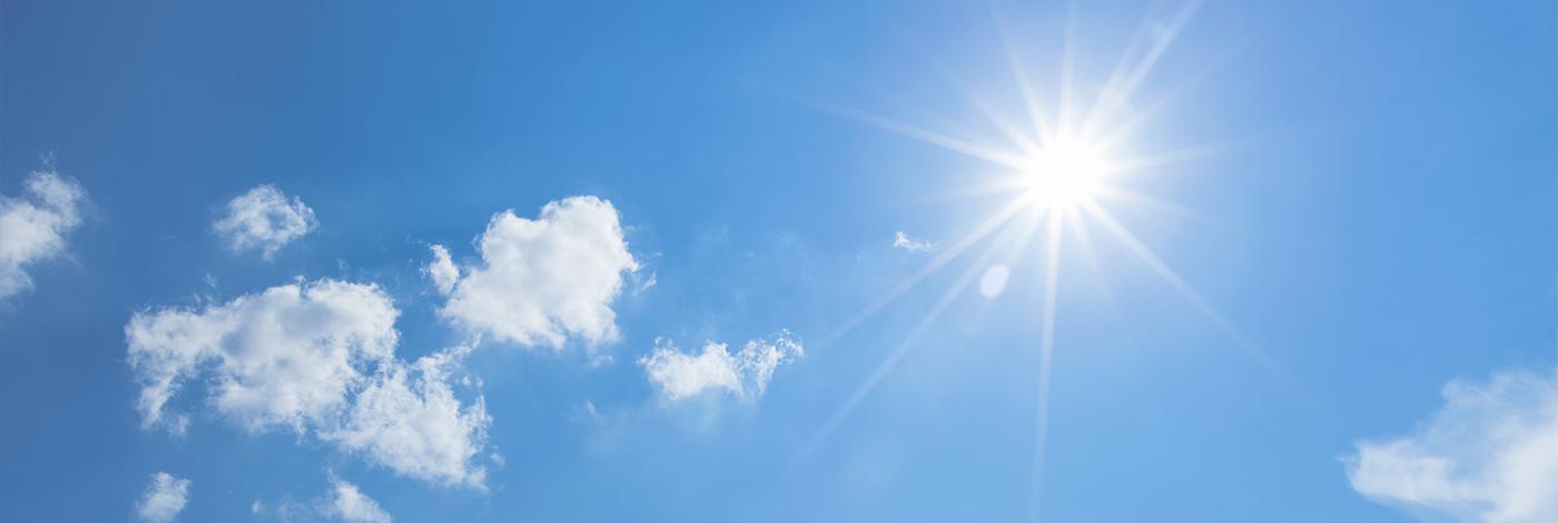 Hvorfor blir huden brun i sola?